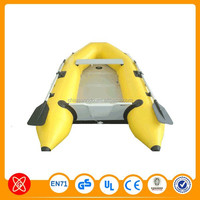 Popular rigid hull PVC rib inflatable boat