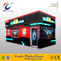 Gun Shooting Crazy Interactive 7d cinema manufacturers