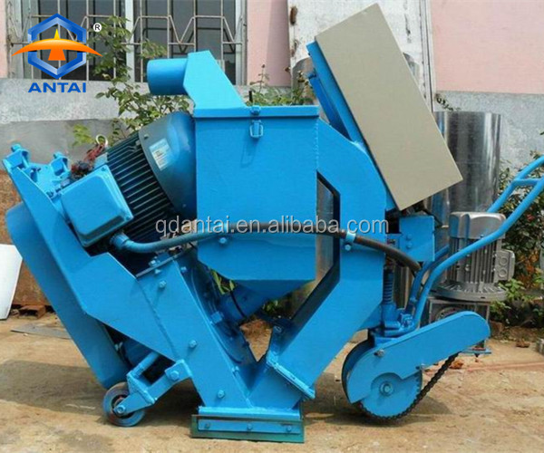 Removable floor paint /sand blasting machine