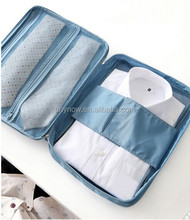 Portable Travel Storage Bag With Shirts And Ties Pouch Organizer