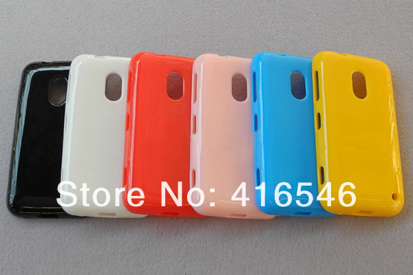 Soft Glossy TPU Gel Case for Nokia Lumia 620 Back Cover