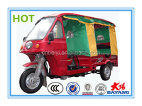 2016 new type taxi car 200cc gasoline water cooling cab moto tricycle