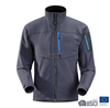 Mens Color Contrasted Good Designed Printed 3 Layers Bonded Waterproof Softshell Jacket