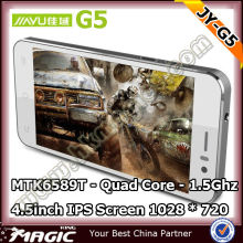 4.5inch Android 4.2 Jaiyu G5 mtk6589T IPS Screen 1028*720 in stock