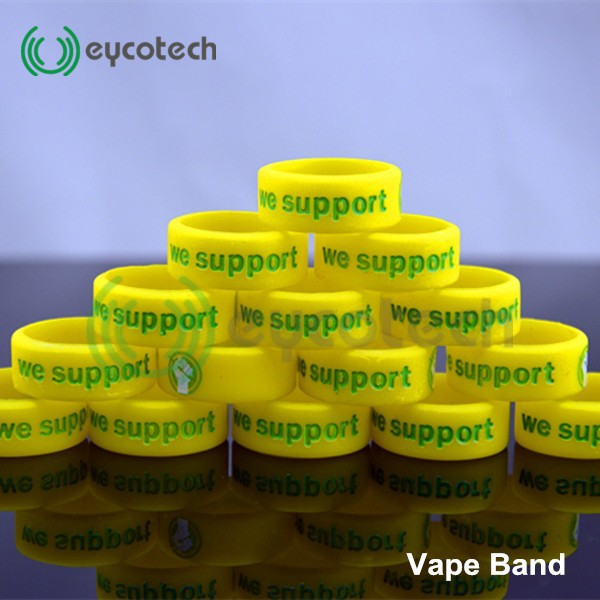 China Wholesale Silicon Band box mod vape band men's silicone rubber rin E-Cig Accessories Colorful Vape Band for Mechanical Mod