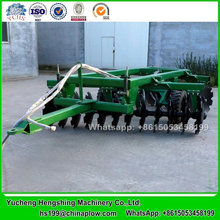 Tractor trailed disc harrow hydraulic offset harrow