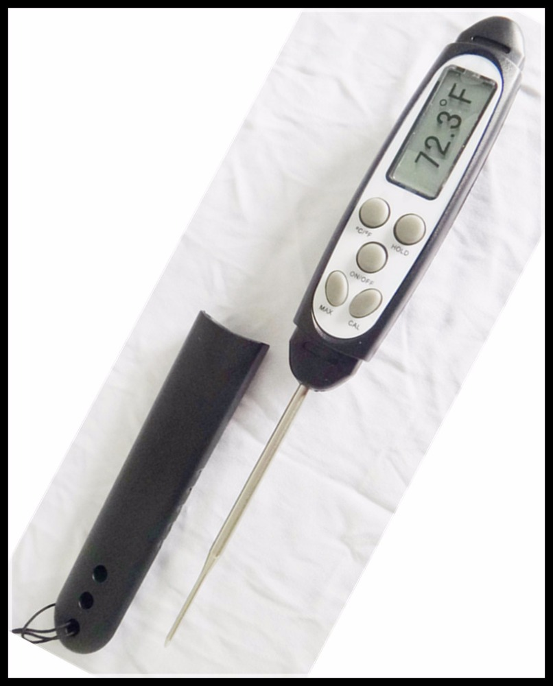 2016 Fast respond instant read digital steak thermometer with ROHS certificate good to use !