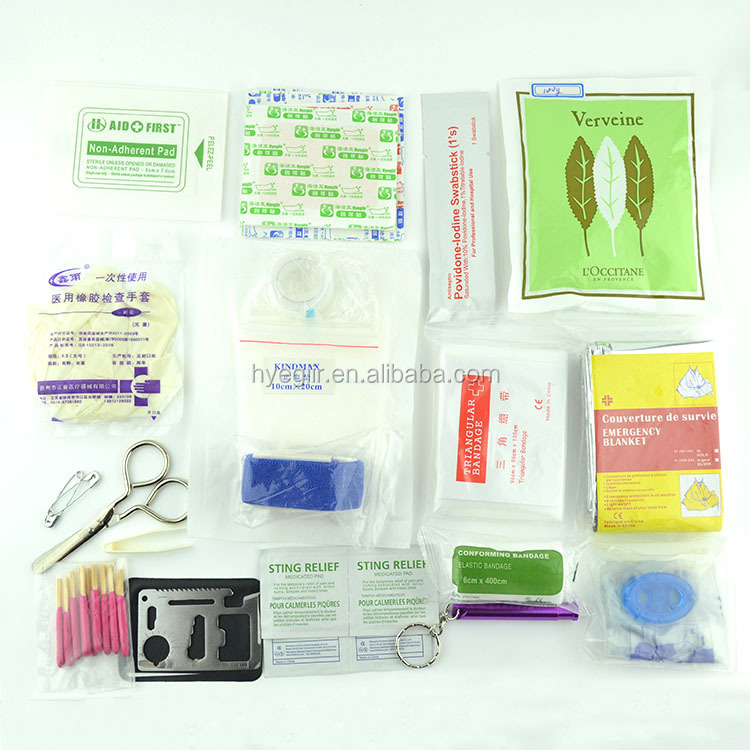 Newly designed FDA and CE approved emergency survival first aid kit box