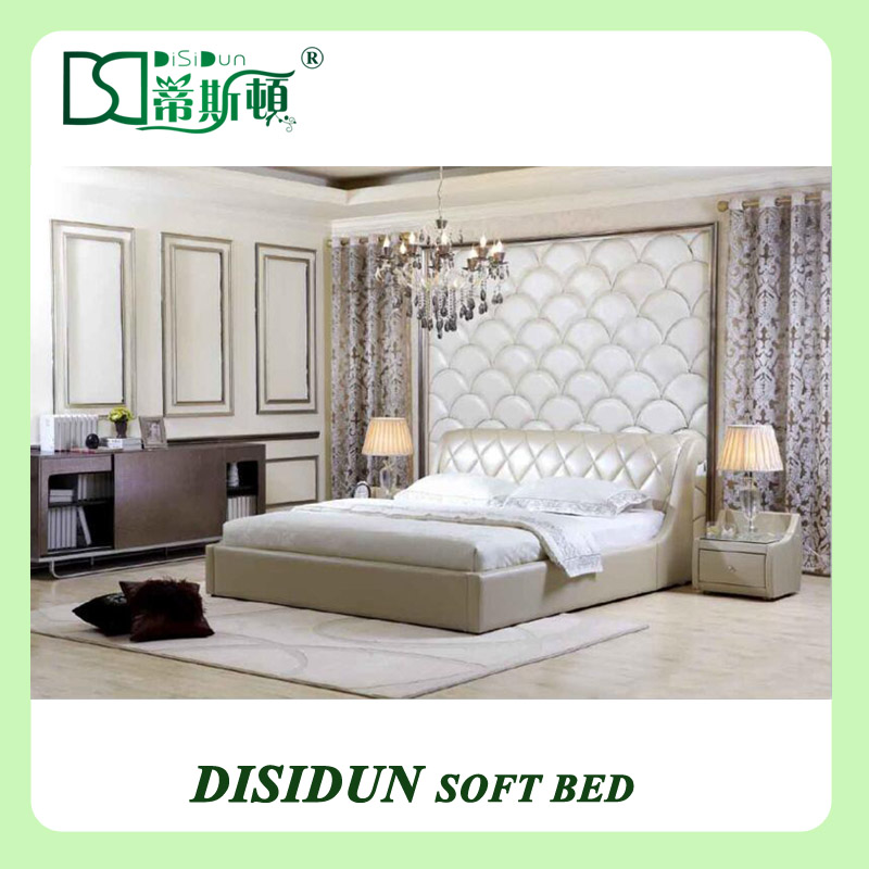 Adult day bed pu leather bed