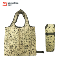 Good qualtiy eco printing reusable nylon foldable shopping tote bags