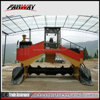 Organic Fertilizer trench type turning machine for sale