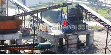 hihg capacity sand / stone production line with full services