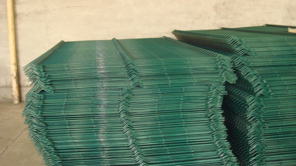 Galvanized Fence panels/PVC coated fence panels/Curved Fence Panles (Hebei factory)