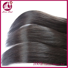 aliexpress hair unprocessed wholesale grade 6a virgin Chinese hair weave natural color straight human hair sew in weave