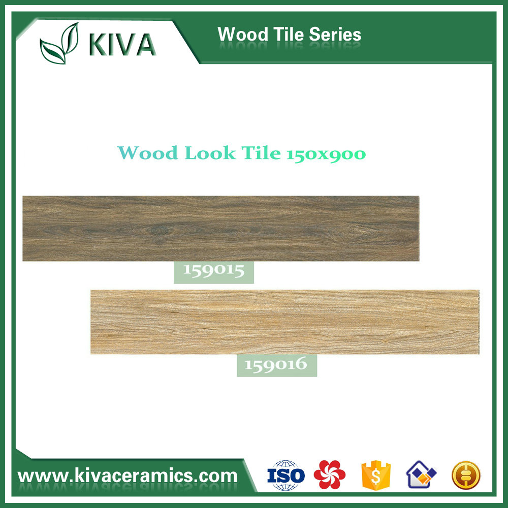 Non-slip digital printing15x90cm ceramic WOOD tiles for floor 159000series