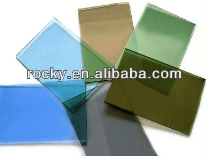 4mm 5mm 6mm 8mm Colored Glass Sheets for sale