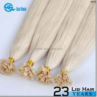 Hot Selling Golden Supplier Top Quality Remy Hair Keratin Glue No Tangle No Dry 2g nail tip double drawn keratin hair
