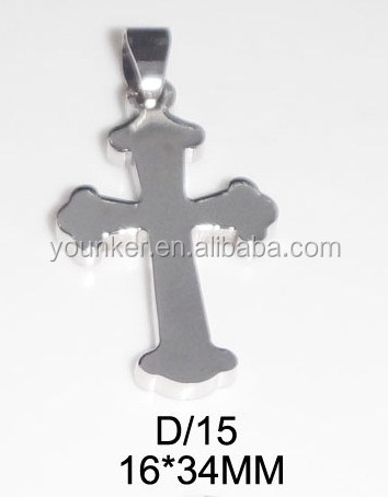 High Quality Stainless Steel Crucifix Pendant