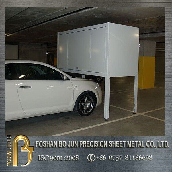 Made in China custom over car bonnet car parking garage storage box