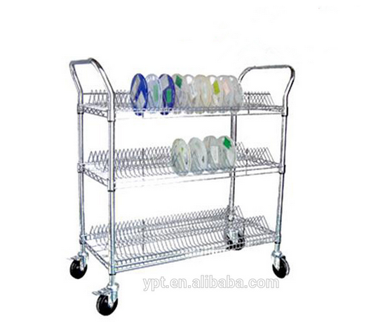 ESD SMT reel workshop trolley/SMT Stainless steel cart ESD