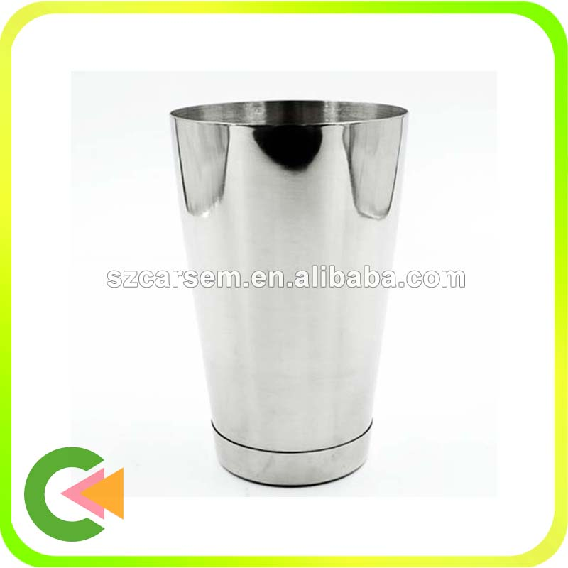 Food grade Stainless Steel Cocktail Shaker Boston
