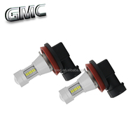Automobile fog light smd3014 canbus H8 H9 H11 H16 auto led bulb for Ford