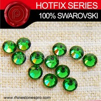 Swarovski Elements For Women Fern Green (291) 16ss Crystal Iron On Rhinestone