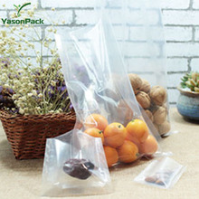 Clear high temperature cooking pe nylon vacuum bags for food packaging