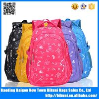 Best selling beautiful children bags wholesale young teens cheap school backpack kids backpack made in China