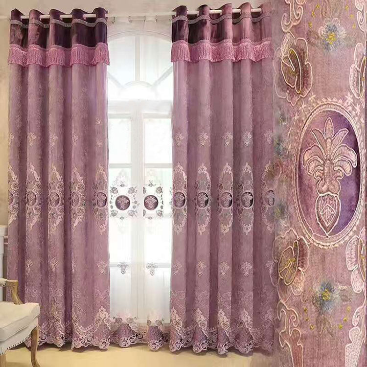 Window screen one way vision curtains for home