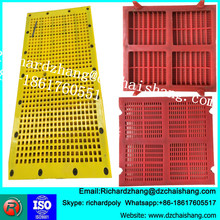 Pin and Sleeves Nipple Polyurethane screen panel for ore mine crusher