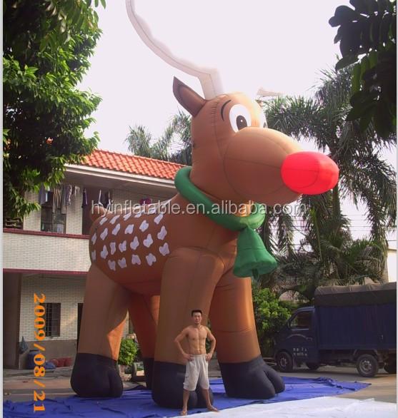 Santa Reindeer Christmas Inflatable, Santa Reindeer Christmas Inflatable  Suppliers And Manufacturers At Alibaba.com