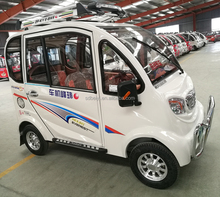 Left and right hand drive 3 seat electric vehicle electric EEC certificate mini cars cheap price on sale