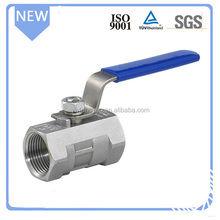 316 stainless steel high pressure 1pc ball valve