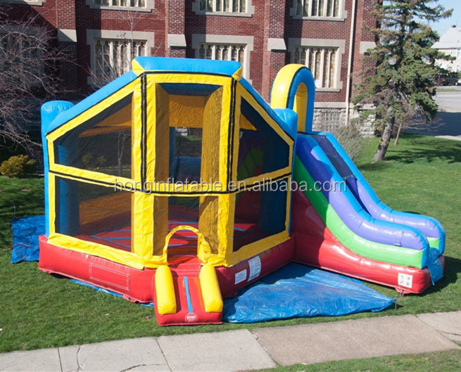 Qihong new residential inflatable mini bouncers, bouncy house for toddlers