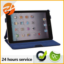 Hot forming high quality wrist strap case for ipad mini, for ipad mini case cover leather
