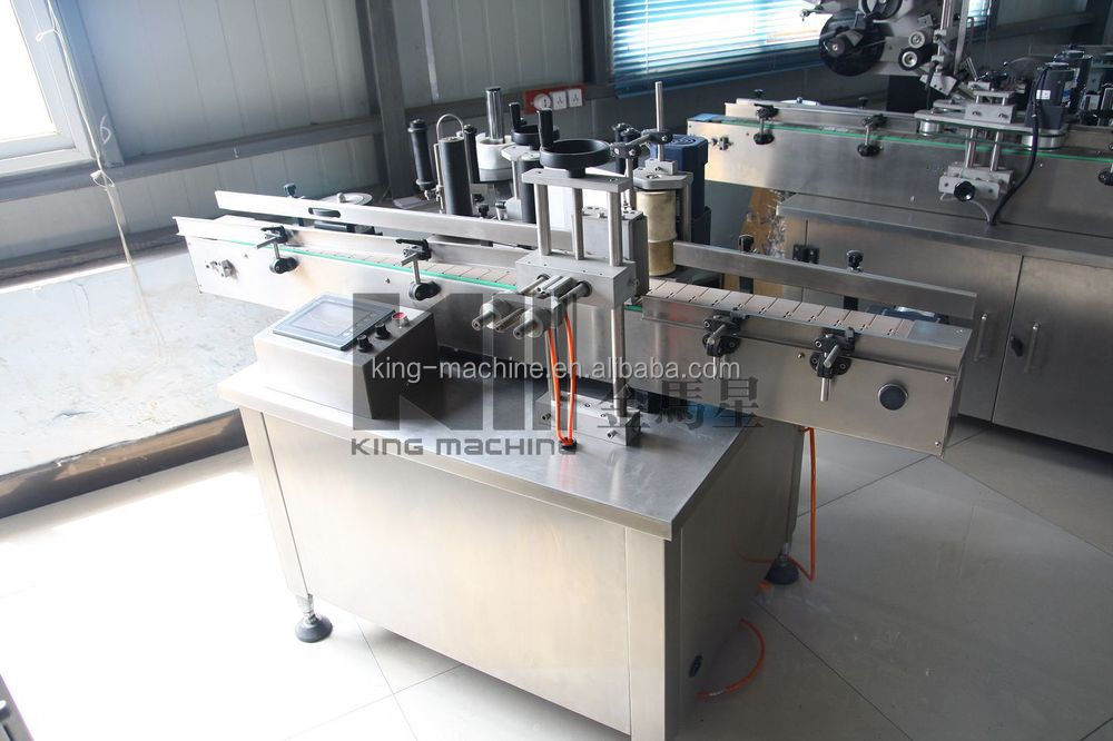 Automatic Wet Glue Stick Labeling Machine for Bottles