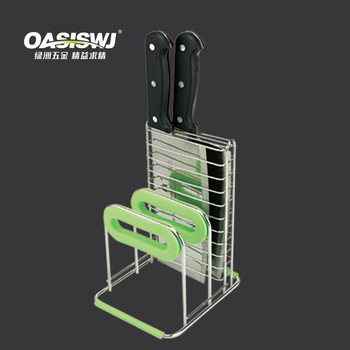 KITCHEN RACK,knife and chopping board rack