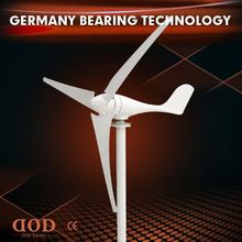 CE low rpm 3-phase maglev motor free wind energy generator 300W horizontal wind turbine used in germany prices