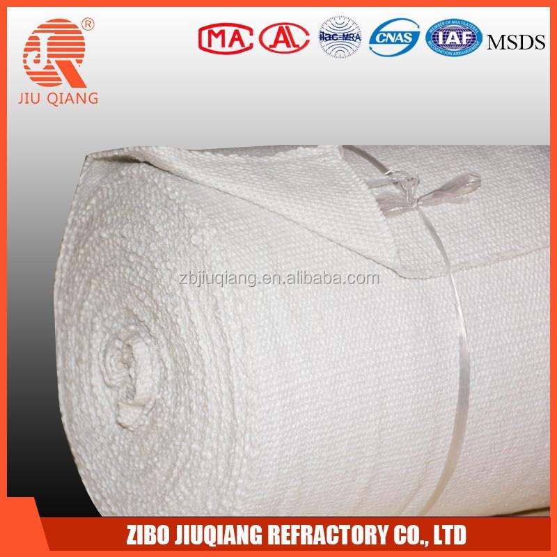 Solde low melting weld backing strip ceramic fiber cloth