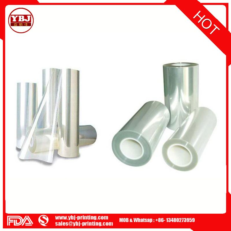 Top quality popular single layer laminated pet protective film