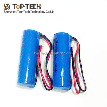 ER14505M 3.6V 2000mAh high rate battery aa size lithium battery with wires connector