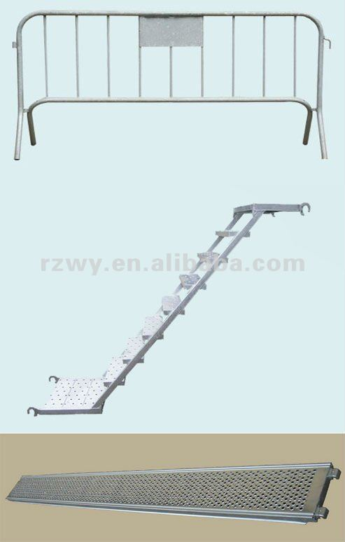 scaffold steel catwalk aluminium steps stairs HDG ladders