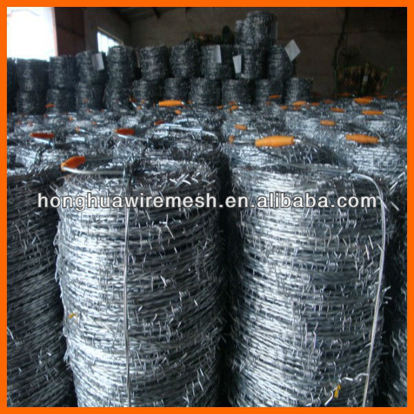 Competitive Prices! Hot Sale! Electro Galvanized/Hot-dipped Galvanized/PVC Coated Barbed Wire (Anping Direct Factory)