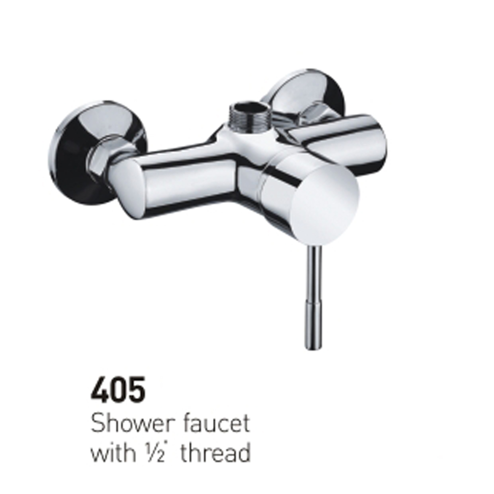 SYT-405 traditional wall mounted european brass shower faucet