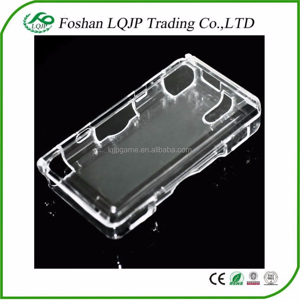 Hard Crystal Clear Transparent Case Skin Cover for Nintendo DSL/DS Lite/NDSL Protective Case Replacement