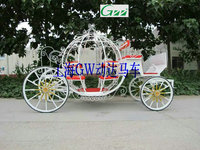 Cinderella Pumpkin Wedding horse carriage
