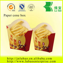 2014 new and trendy bag of chips productions package cone