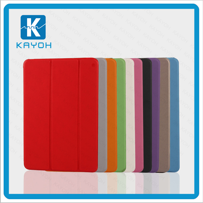 [kayoh]For Ipad air 2 case cover, 9 inch PU leather stent design PC case for ipad 6 tablet case