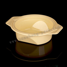 lovely safe PP plastic baby bowl with handle